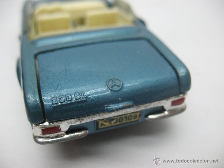 Coches a escala: JOAL Miniaturas - Coche descapotable Mercedes Benz 280 SL - Escala 1:43 - Foto 6 - 234932975