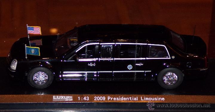 Coches a escala: LINCOLN PRESIDENCIAL LIMOUSINE ESCALA 1:43 EN su CAJA - Foto 5 - 52560135