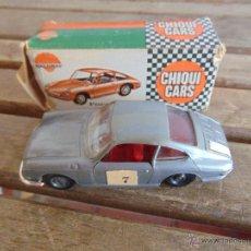 Coches a escala: COCHE A ESCALA 1/43 DE NACORAL CHIQUI CARS EN CAJA PORSCHE 912 FALTA PARACHOQUE TRASERO. Lote 52642143