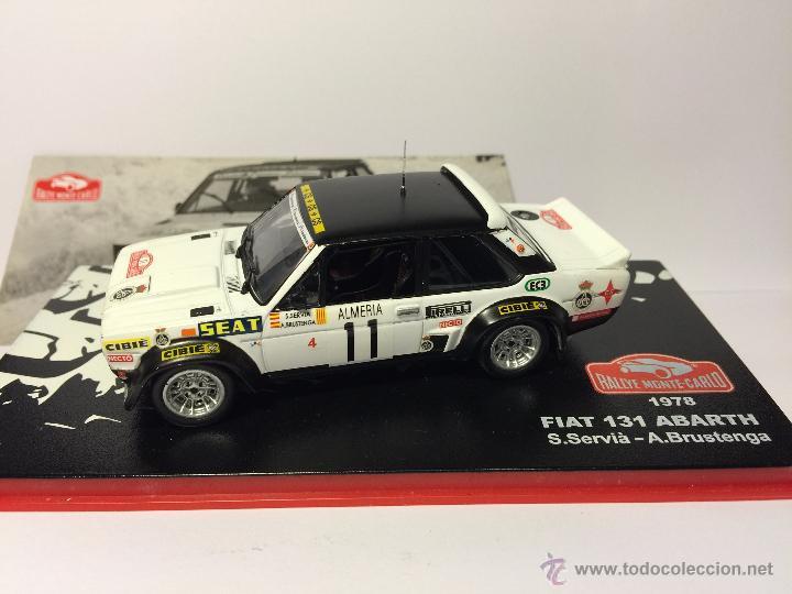 IXO ALTAYA 1//43 FIAT 131 ABARTH S.SERVIA A.BRUSTENGA RALLYE MONTECARLO 1978