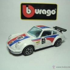 Coches a escala: PORSCHE 911 TURBO DE BURAGO BBURAGO 1,43. Lote 52903771