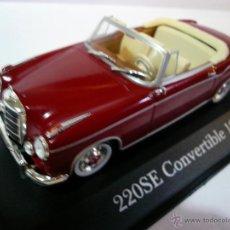 Coches a escala: MERCEDES 220 SE CONVERTIBLE 1958 . Lote 53463814