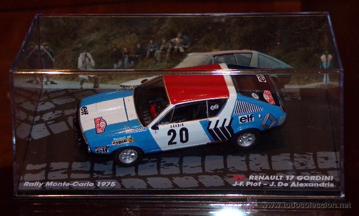 1:43 Altaya Renault 17 Gordini #20 Rally Monte Carlo Piot 1975