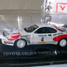 Coches a escala: WRC , TOYOTA CELICA TURBO 4WD RALLY CATALUÑA 1992 ,1/43. Lote 53572757