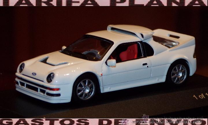 Coches a escala: FORD RS200 ESCALA 1:43 DE WHITE BOX EN CAJA - Foto 1 - 53745518