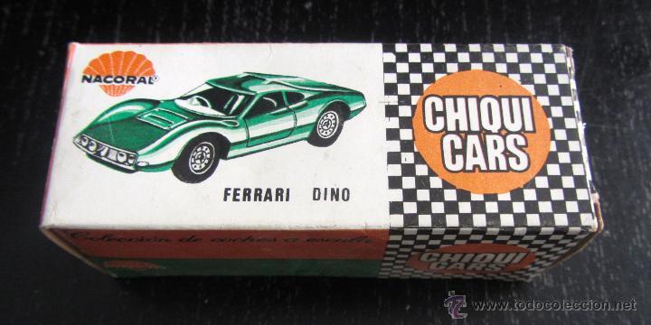 antiguo coche de chiqui cars de nacoral - ref 2 - Comprar ...