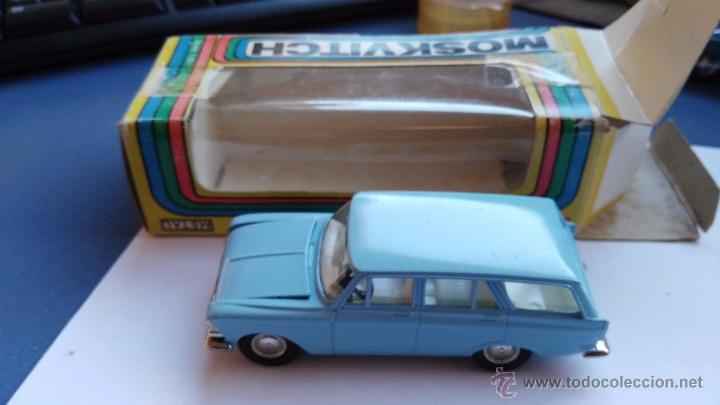 Coches a escala: coche moskvitch 426 coche ruso en caja - Foto 3 - 178184573
