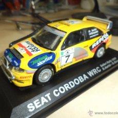 Coches a escala: SEAT CÓRDOBA WRC RALLY SAFARI 2000 ESC.1/43.. Lote 54169313