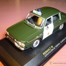 Coches a escala: RENAULT 10 GUARDIA CIVIL 1967 ALTAYA 1:43. Lote 110403282