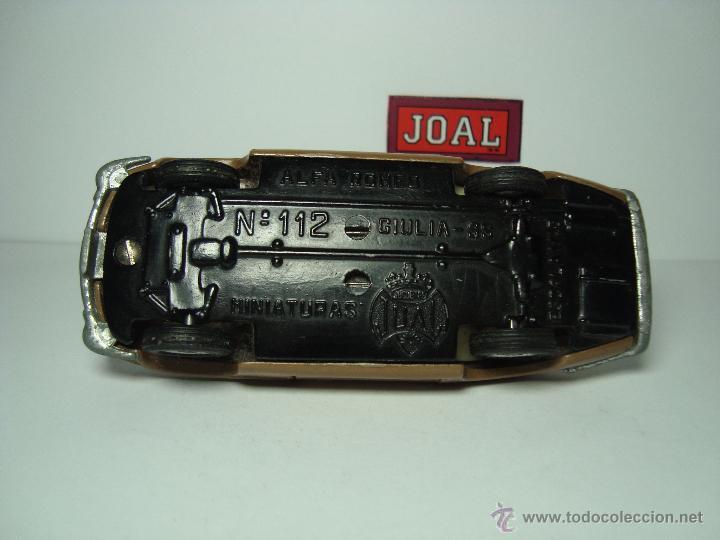 Coches a escala: ALFA ROMEO GIULIA SS DE JOAL 1,43 1ª SERIE - Foto 5 - 26954141