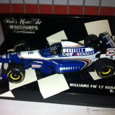 Coches a escala: MINICHAMPS - WILLIAMS FW17 1995 - DAMON HILL. Lote 54865187
