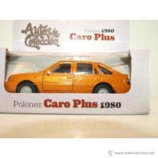 Coches a escala: MODELO POLONEZ CARO PLUS 1980. MAISTO. ESCALA 1/39. . Lote 55008881