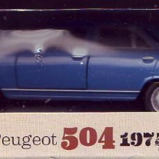 Coches a escala: MODELO PEUGEOT 504 1975 MAISTO. ESCALA 1/39. . Lote 55008937