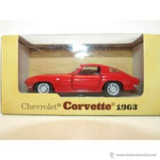 Coches a escala: MODELO CHEVROLET CORVETTE 1963. MAISTO. ESCALA 1/39.. Lote 55008976