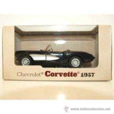 Coches a escala: MODELO CHEVROLET CORVETTE 1957. MAISTO. ESCALA 1/39. . Lote 55009103