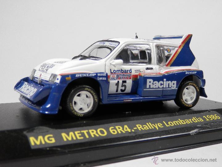 MG METRO GR4 RALLYE LOMBARDIA 1986 ALTAYA 1/43 LUGOY (Juguetes - Coches a Escala 1:43 Otras Marcas)