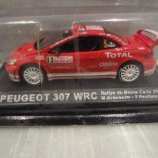 Coches a escala: COCHE PEUGEOT 307 WRC - RALLYE DE MONTECARLO 2004 - 1/43 - ALTAYA. Lote 55573088