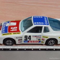 Coches a escala: PORSCHE 924 TURBO - BBURAGO - ESCALA 1/43 - DECORACIÓN CARRERAS - MADE IN ITALY. Lote 55937199