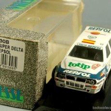Auto in scala: VITESSE 1/43 LTD - LANCIA SUPER DELTA RALLYE DE MONTECARLO C. SAINZ #1 TOTIP REPSOL - NUEVO EN CAJA. Lote 56538153