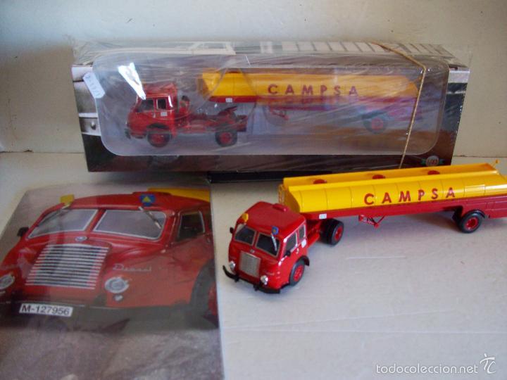 Coches a escala: Planeta DeAgostini /Camiones Articulados, nº 1 - PEGASO MOFLETES 1:43 /Sin abrir - Foto 5 - 56545733