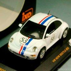 Model Cars - IXO MOC015 1:43 - VOLKSWAGEN New Beetle #53 NEW HERBIE - Escala 1/43 NUEVO EN CAJA - 56636580