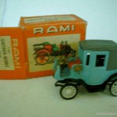 Coches a escala: RAMI PEUGEOT COUPE 1898 CON CAJA,NO ES LA SUYA. Lote 57384880