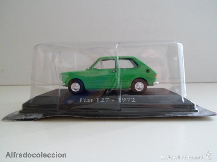 FIAT 127 - 1972 VERDE SEAT ESCALA 1/43 COCHE CLÁSICO MINIATURA METAL NUEVO BLISTER . (Juguetes - Coches a Escala 1:43 Otras Marcas)