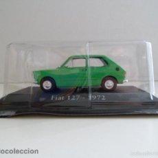 Coches a escala: FIAT 127 - 1972 VERDE SEAT ESCALA 1/43 COCHE CLÁSICO MINIATURA METAL NUEVO BLISTER .. Lote 136461184