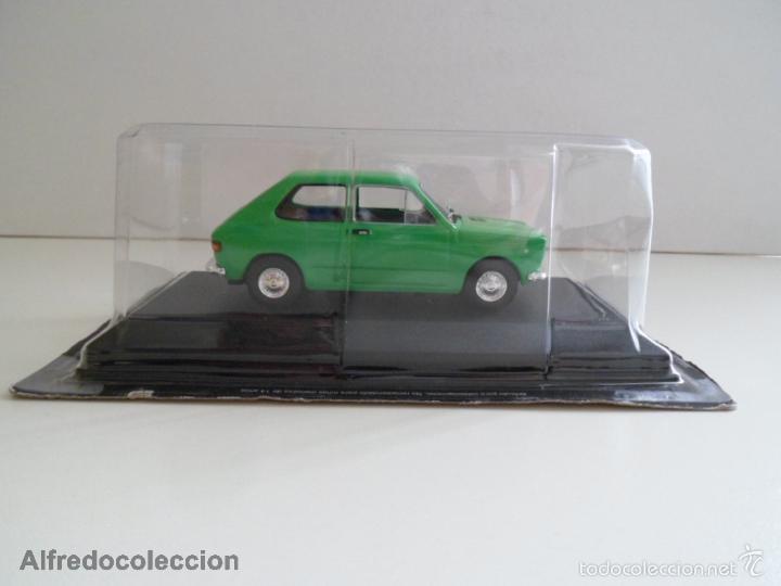 Coches a escala: FIAT 127 - 1972 VERDE SEAT ESCALA 1/43 COCHE CLÁSICO MINIATURA METAL NUEVO BLISTER . - Foto 3 - 136461184