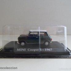 Coches a escala: MINI COOPER S 1967 VERDE ESCALA 1/43 COCHE CLÁSICO MINIATURA METAL NUEVO BLISTER .. Lote 57576300