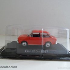 Coches a escala: FIAT 850 - 1967 ROJO ESCALA 1/43 COCHE CLÁSICO METAL NUEVO BLISTER .. Lote 57576770