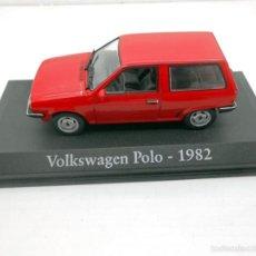 Coches a escala: COCHE VOLKSWAGEN POLO 1982 IXO RBA 1/43 1:43 METAL MODEL CAR MINIATURA ALFREEDOM. Lote 152054606