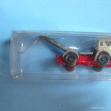 Coches a escala: WIKING 1:87, ESCALA H0,GRUA, MADE IN GERMANY. Lote 57652577