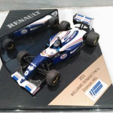 Coches a escala: COCHE A ESCALA 1/43 - FORMULA 1 - WILLIAMS RENAULT FW16 - DAMON HILL - COLECCION RENAULT . Lote 57814323
