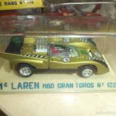 Coches a escala: JOAL - MC.LAREN M80 GRAN TOROS.REF.Nº 122.MADE IN SPAIN AÑOS 70.. Lote 57979333