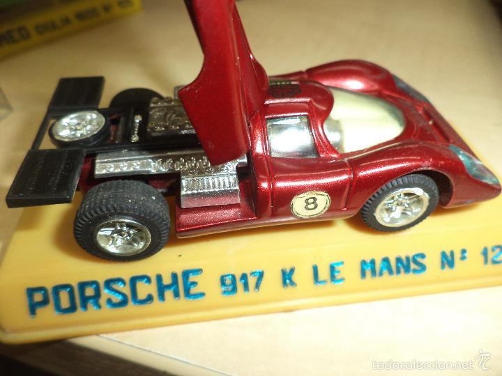 Coches a escala: JOAL - Porsche 917 Le Mans.Ref.nº 121.Made in Spain años 70. - Foto 3 - 58100196