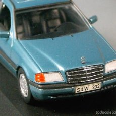 Coches a escala: MINICHAMPS PAUL'S MODEL ART 1/43 - MERCEDES BENZ C220 - ESCALA 1:43 - NUEVO EN CAJA ORIGINAL. Lote 58121366
