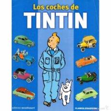 Coches a escala - COLECCION COMPLETA LOS COCHES DE TINTIN 1/43 - 34 COCHES - 77857294