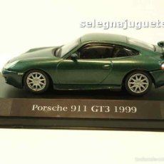 Coches a escala: PORSCHE 911 GT3 1999 (VITRINA) 1/43 HIGH SPEED COCHE ESCALA. Lote 58424240
