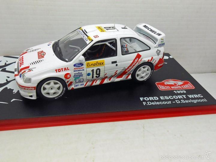 COCHE FORD ESCORT WRC 1999 RALLYE RALLY MONTECARLO 1/43 1:43 CAR (Juguetes - Coches a Escala 1:43 Otras Marcas)