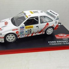 Coches a escala: COCHE FORD ESCORT WRC 1999 RALLYE RALLY MONTECARLO 1/43 1:43 CAR. Lote 159302730