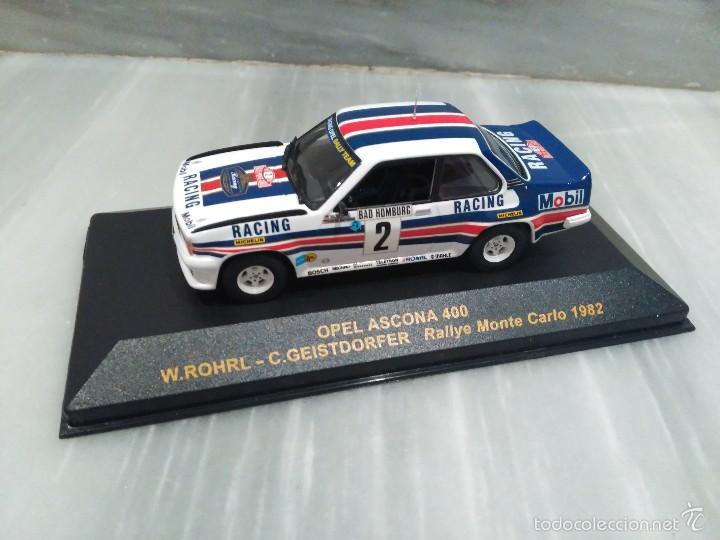 COCHE OPEL ASCONA 400 - RALLY MONTE CARLO 1982 - RALLY CAR - ALTAYA - 1/43 (Juguetes - Coches a Escala 1:43 Otras Marcas)