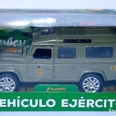 Coches a escala: COCHE METALICO DIECAST EJERCITO DE TIERRA ESPAÑA SPANISH MILITARY 4X4 13 CMS. Lote 61626256