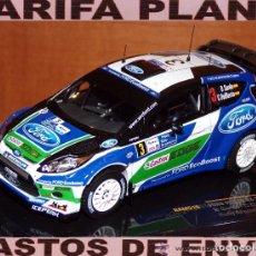 Coches a escala: FORD FIESTA RS WRC RALLYE ARGENTINA 2012 D.SORDO - C.D. BARRIO ESCALA 1:43 DE IXO EN SU CAJA. Lote 62402064