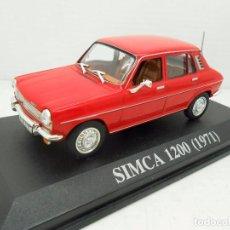 Coches a escala: COCHE SIMCA 1200 QUERIDOS COCHES ALTAYA AÑO 1971 IXO METAL MODEL CAR 1/43 1:43 MINIATURA. Lote 205755137