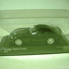 Coches a escala: MINICHAMPS DODGE VIPER COUPE 1/43 EN CAJA. Lote 206243498
