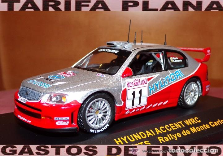 Hyundai Accent Wrc Ralye De Montecarlo 2003 F L Comprar Coches A