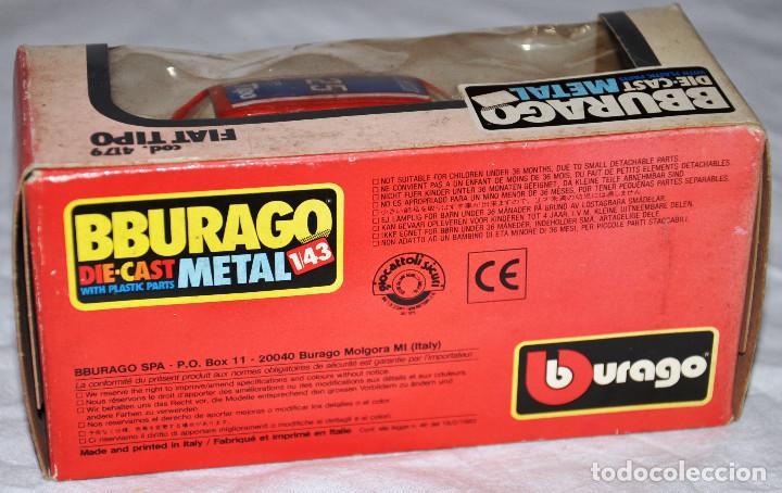 Coche Burago Fiat Tipo Cod 4179 Bburago Die C Comprar Coches A
