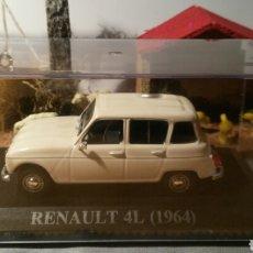 Coches a escala: RENAULT 4 L (1964) NUESTROS QUERIDOS COCHES. Lote 80883126