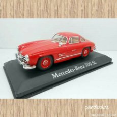 Coches a escala: COCHE MERCEDES 300 SL RBA METAL MODEL CAR 1/43 1:43 MINIATURA. Lote 69121801